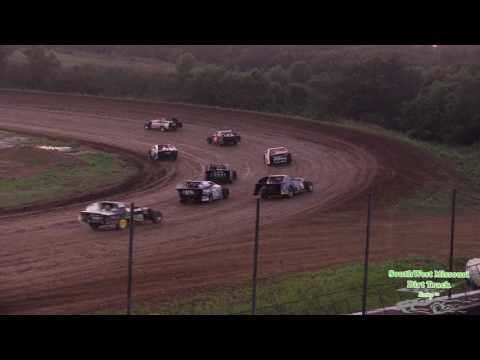Springfield Raceway Midwest Mods B Feature race July 1 2017