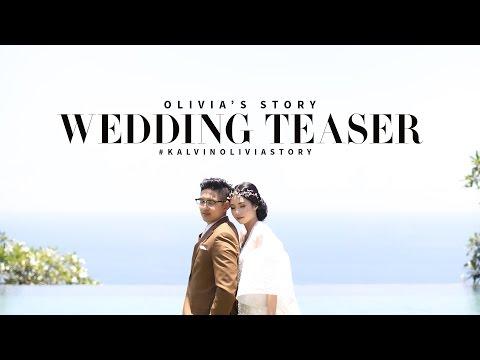 WEDDING TEASER #KALVINOLIVIALOVESTORY