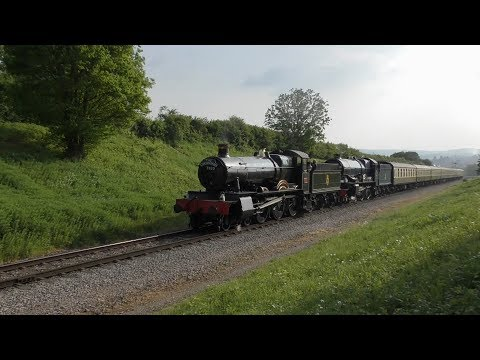 Gloucestershire Warwickshire Railway 'Give my regards to Broadway' Cotswold Festival of Steam 2018