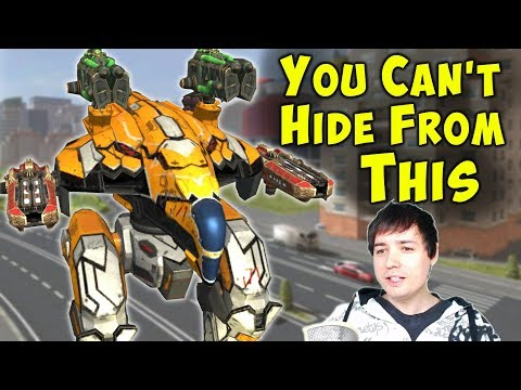 War Robots Ninja Raven - You Can't Hide From THIS - Mk2 Gameplay WR
