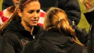 Tobin Heath and Alex Morgan - Lego House