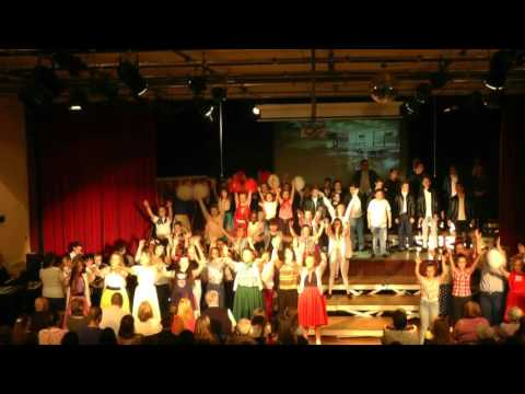 St John Fisher School Production - Grease 2014