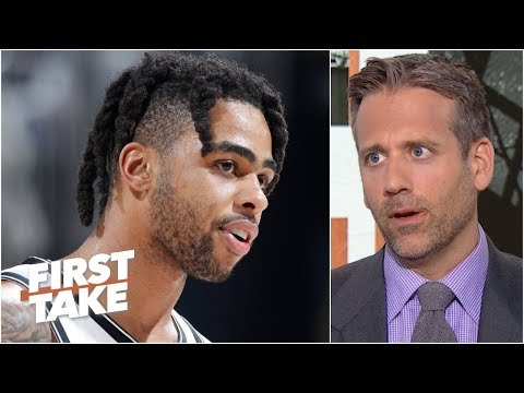 D'Angelo Russell needs to be 'humbled' to fit in with the Warriors – Max Kellerman   First Take