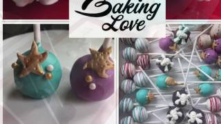 Mermaid and Pirate Cake Pops