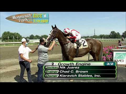 video thumbnail for MONMOUTH PARK 07-19-20 RACE 8