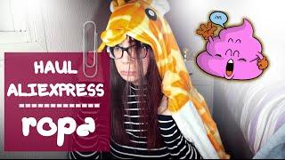 HAUL Aliexpress 1 (ROPA) | Carla Laubalo