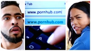 One of 4YE Comedy's most viewed videos: THAT MOMENT SHE TYPES WWW.P