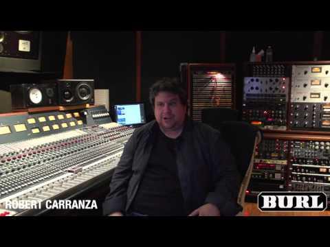 Robert Carranza records an A/B at EastWest Studios