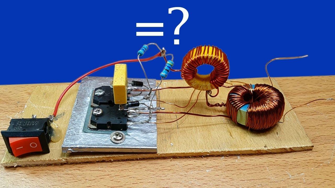 testing inverter 12v to 220v ac or dc circuit youtube. Black Bedroom Furniture Sets. Home Design Ideas