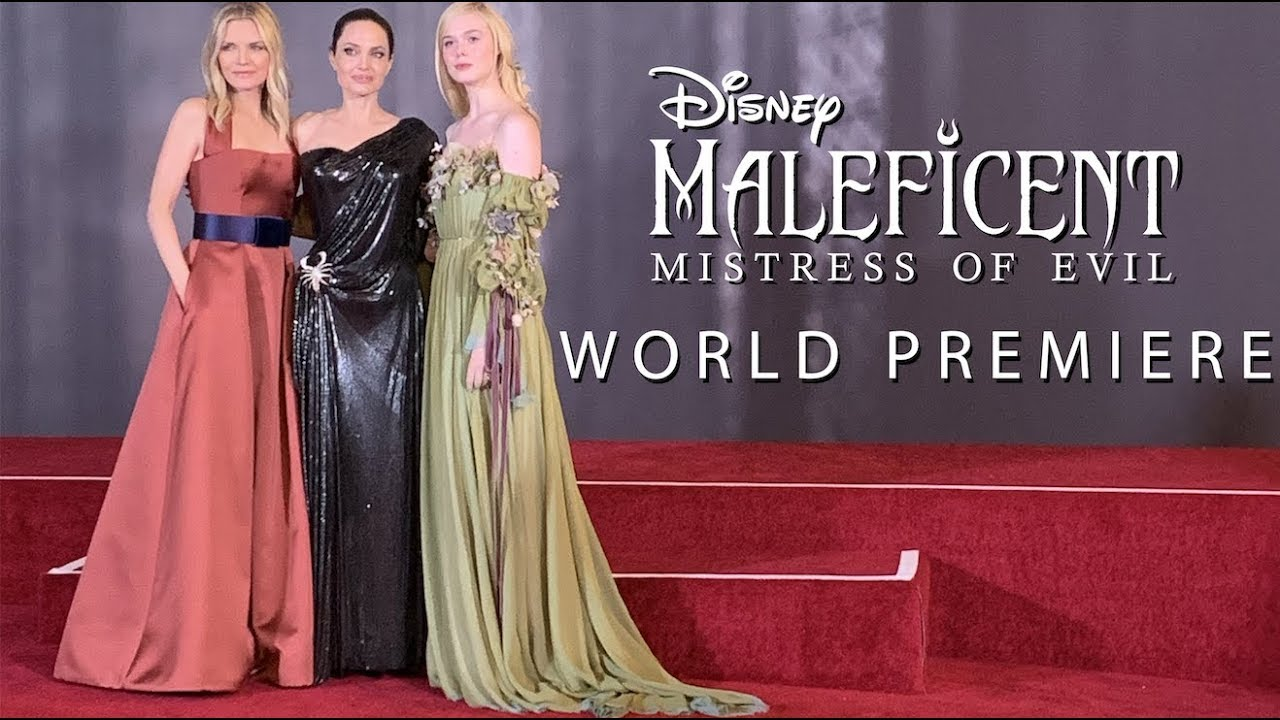 The World Premiere Of Maleficent Mistress Of Evil