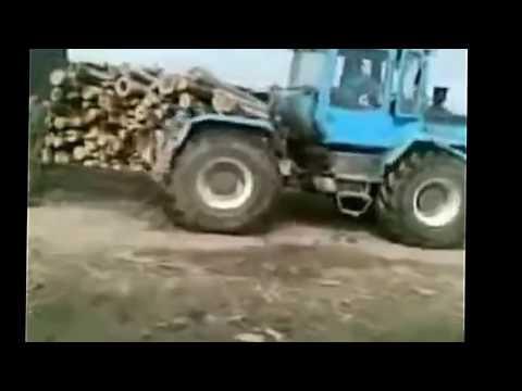 Джип против Трактора