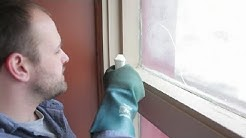 How to Remove Black Mildew From Wood Windowsills : Bathroom Cleaning & More