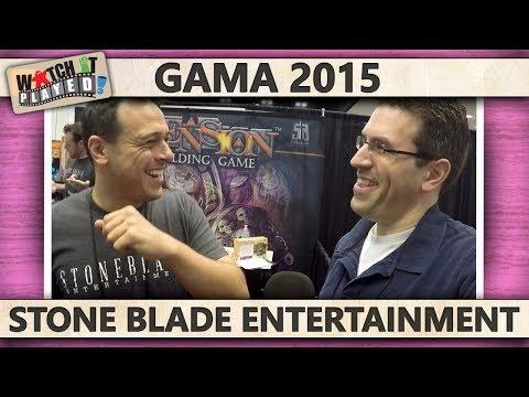 GAMA 2015 - Stone Blade Entertainment