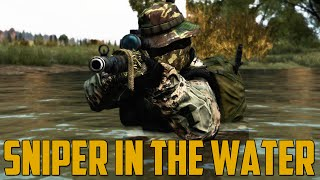 SNIPER IN THE WATER (DayZ Standalone)