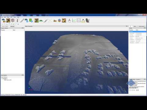 Carlson Precision 3D Topo 2017 | Create Surfaces From Multi Gigabyte Point Clouds