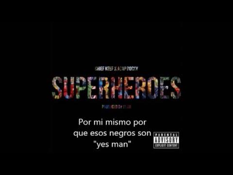 A$AP Rocky  x Chief Keef - Superheroes (Sub Español)
