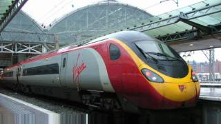 Virgin Trains Uk - First Year on Youtube and 100th Video - Lets take a look back over 2010