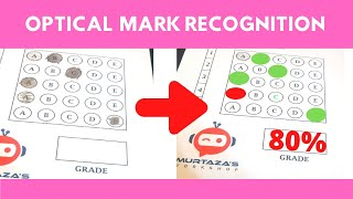 OPTICAL MARK RECOGNITION (OMR) MCQ Automated Grading- OpenCV Python