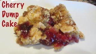 Dump Cake Ingredients Cherry Pie Filling Yellow Cake Mix