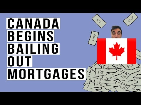 🇨🇦 Canada Begins Mortgage BAILOUT Through Complex Too Big To