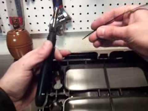 zip tie cracked bumper fix