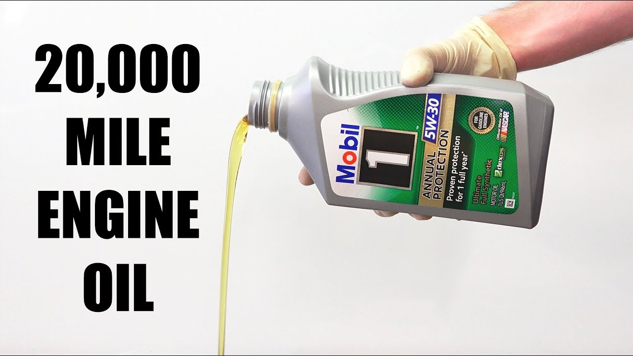 Can Engine Oil Last 20 000 Miles Mobil 1 Annual Protection