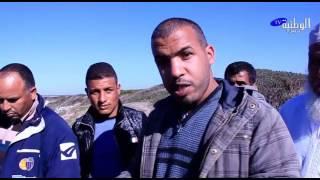 الوطنية بريس - عائلة مكلومة تنتظر جثة ابنها ابتلعته أمواج شاطئ المنصورية منذ حوالي أسبوع