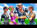 PRO PLAYER GETS FAN CLUB OF GIRLS! *NFL SKINS* - Fortnite Short Films