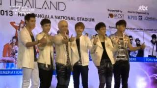 130413 Teen Top B1A4 EXO-M SNSD Opening clip SUPER JOINT CONCERT in TH