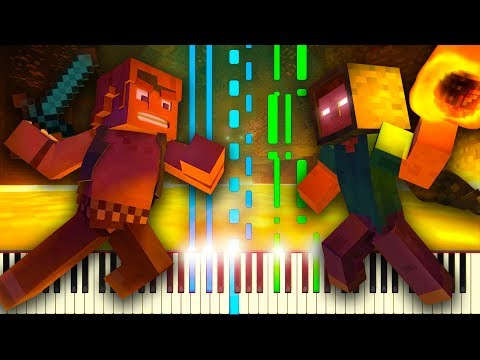 Take Back the Night (Minecraft 10th Anniversary Special) - Piano Tutorial