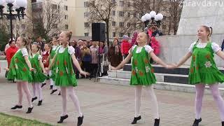 Открытие фонтанов в Зеленодольске 2018