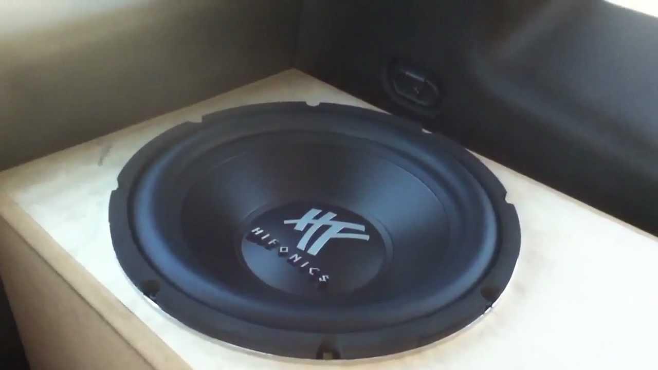 Hifonics hfx12D4 review