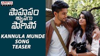Download Hindi Video Songs - AR Rahman | Kannula Munde Song Teaser | Saahasam Swaasaga Saagipo | NagaChaitanya, GauthamMenon