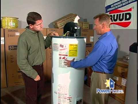 Choosing a water heater - 11/22/08