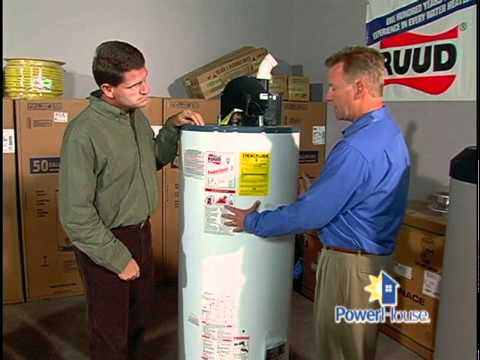 Choosing a water heater - 11/22/08