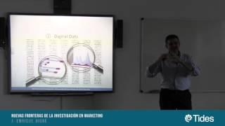 SeminariosTides: NUEVAS FRONTERAS DE LA INVESTIGACIÓN EN MARKETING