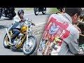 Jaket Denim yang Dipakai Jokowi saat Touring Banjir Orderan, Harganya Fantastis!