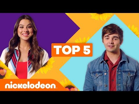 Jack Griffo & Kira Kosarin Reveal Their Top 5 Moments 😂  | The Thundermans | Nick