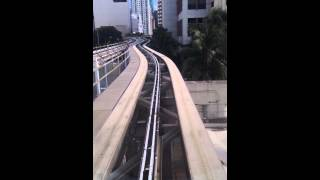 Miami Metromover Omni Loop Southbound Part 1