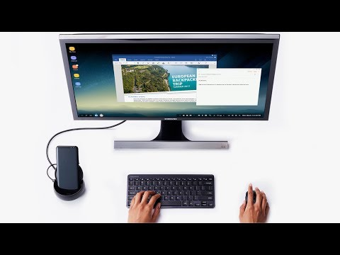 Samsung DEX Experience on Galaxy Note 8