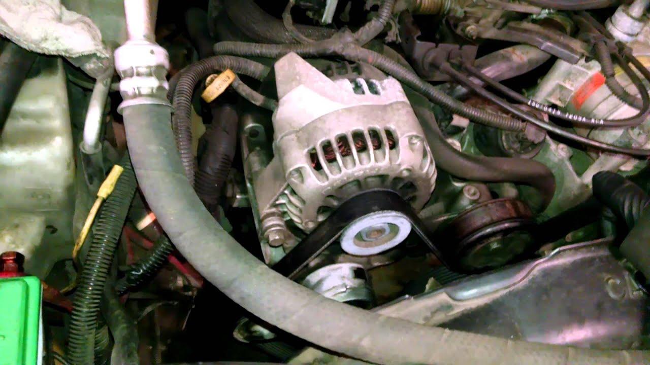hight resolution of belt noise squeal 2008 chevrolet trailblazer tensioner