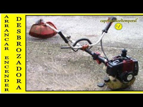 Arrancar/Encender Una Desbrozadora (Gasolina)