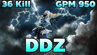 [Dota2] DDZ Pro Plays Heroes Zeus Mid Ranked Game [ DDZ Gameplay ] 7000 MMR