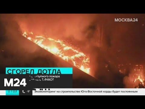ДТП в Сергиевом Посаде и пожар в ТиНАО: новости за 22 ноября - Москва 24