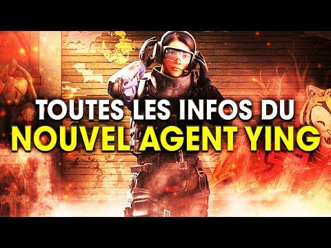 NOUVEL AGENT YING, TOUTES LES INFOS ! OPERATION BLOOD ORCHID - RAINBOW SIX SIEGE