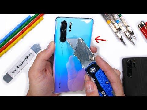 Huawei P30 Pro Durability Test - Breathing Crystal?!
