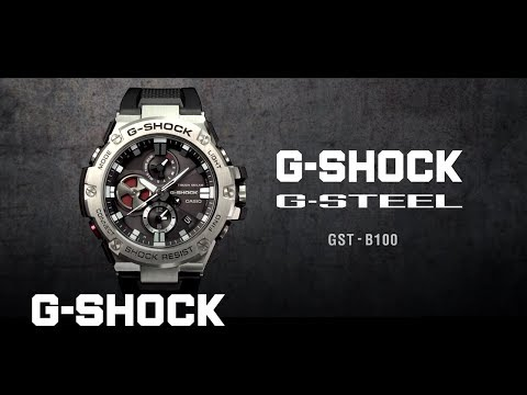 G-STEEL GST-B100 product video (Horizontal ver.) : CASIO G-SHOCK