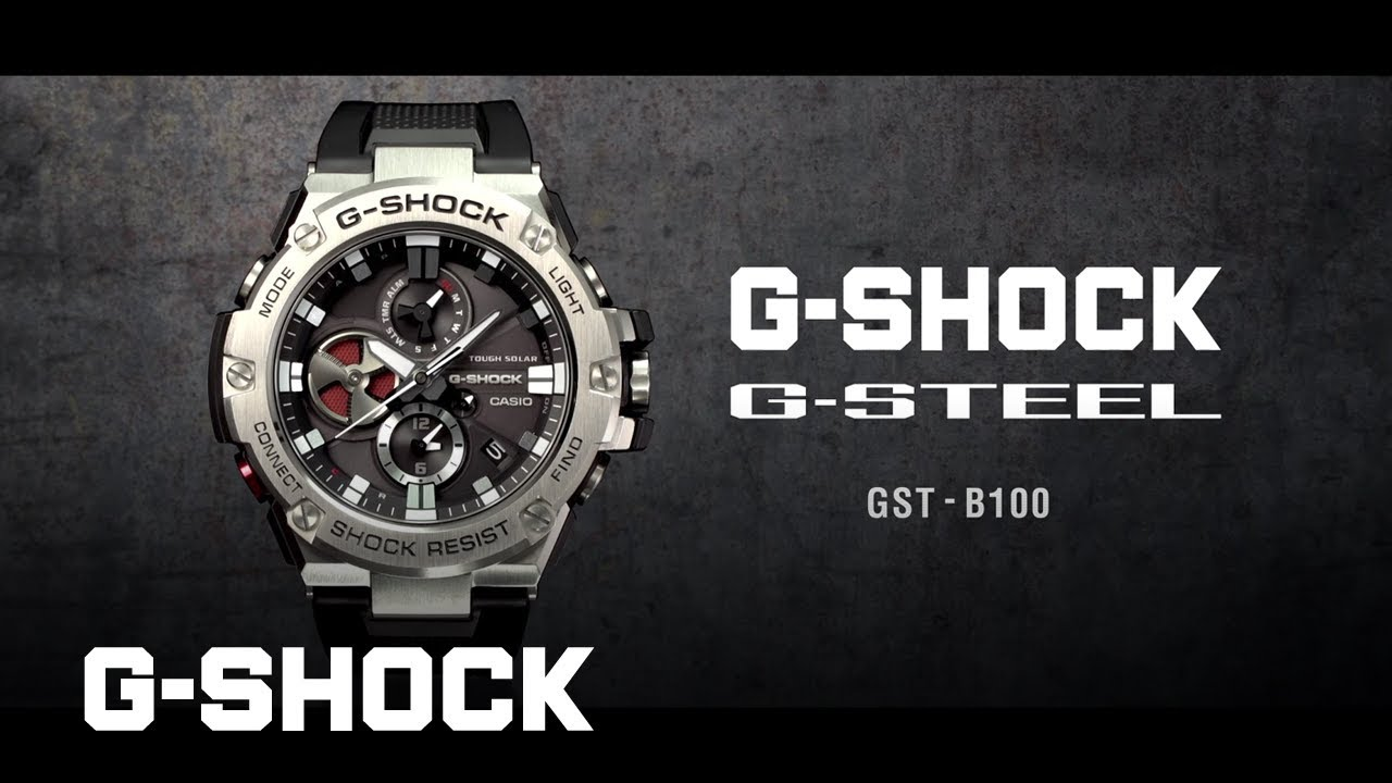 8dd5a63e36f G-STEEL GST-B100 product video (Horizontal ver.)   CASIO G-SHOCK ...