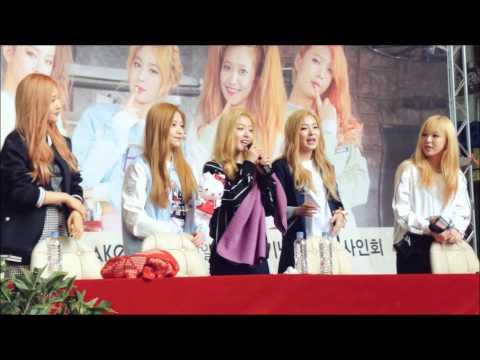 Red Velvet Acappela (Something Kinda Crazy, Take It Slow, Candy) at Synnara Fansign