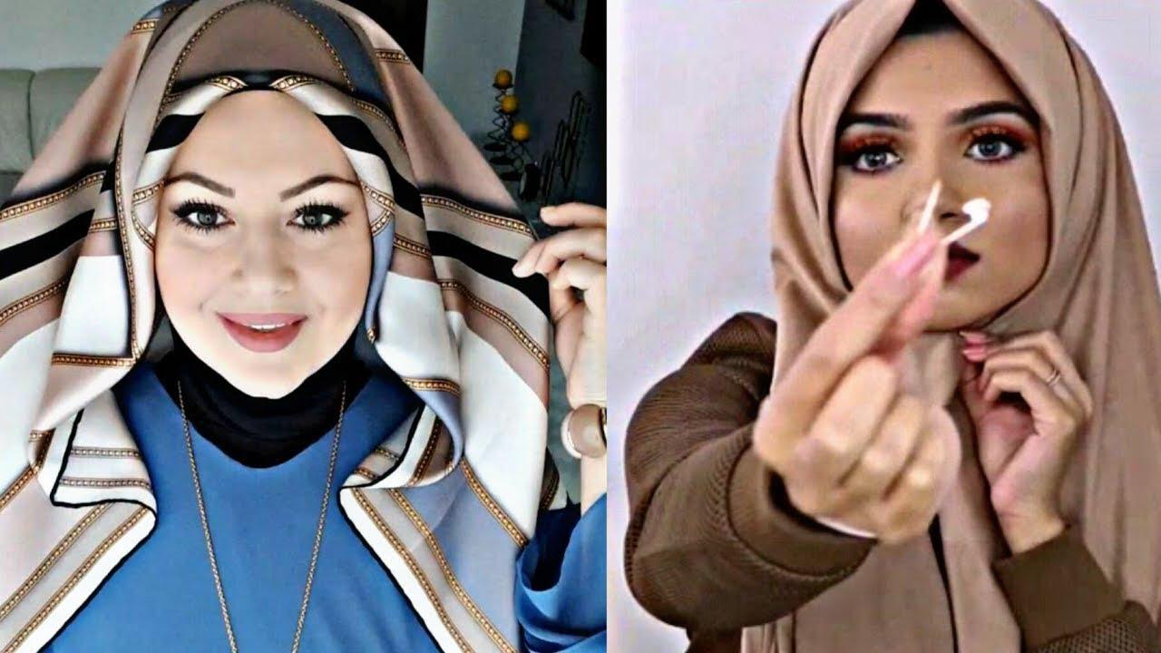 School & University HIJAB Fashion 2018, Quick & Easy Hijab Styles